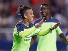 Klopps Reds feiern Sieg gegen AC Mailand