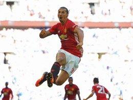 Ibrahimovic k�pft United zu Titel Nummer eins