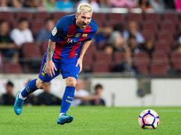 Will auch als Blondschopf für Argentinien auflaufen: Lionel Messi.