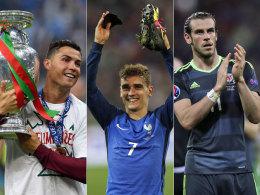 Bale, CR7, Griezmann: Drei Kandidaten, vier Fragen