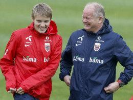 Norwegen: Mit drei Bundesliga-Profis, aber ohne Ödegaard
