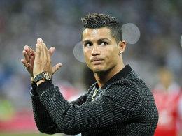 Cristiano Ronaldo ist Europas Fu�baller des Jahres