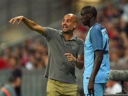 War es das? Das Verhältnis von Guardiola (li.) und Touré scheint zerrüttet.