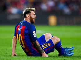 Messi erleidet Adduktorenverletzung
