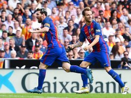 Messi lässt Barça in letzter Sekunde durchatmen