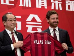 Villas-Boas übernimmt Shanghai IPG