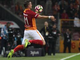 Galatasaray verliert Topspiel - nur 12 Minuten für Podolski
