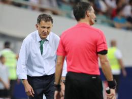 Mexiko-Coach Osorio für Gold Cup gesperrt