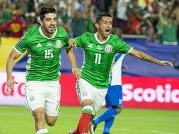 Mexiko ist dank Pizarro im Halbfinale