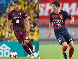 Podolski und Kobe verlieren - Kanazaki dreht das Spiel