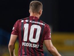 Wieder verloren: Utaka schockt Podolski & Co.