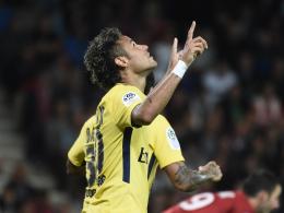 Vorlage und Tor: Neymar feiert gelungenes PSG-Debüt