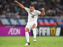 Podolski-Tor bringt nicht die Kobe-Wende
