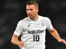 Podolski trifft sehenswert gegen Niigata