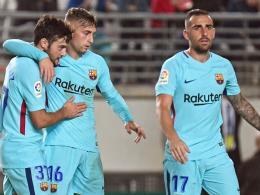 Deulofeu dreht auf: Barça siegt souverän