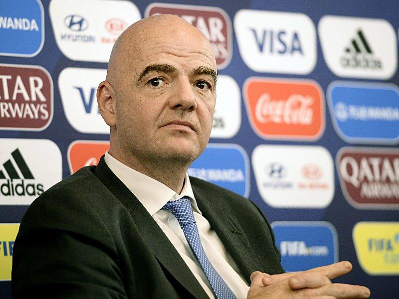 FIFA erhöht Preisgelder für WM-Teilnehmer auf Rekordniveau