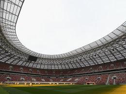 Historisches Luschniki-Stadion wiedereröffnet