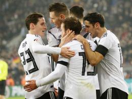 Deutschland als Weltranglistenerster zur Auslosung