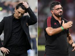 Montella-Aus bei Milan - Gattuso übernimmt