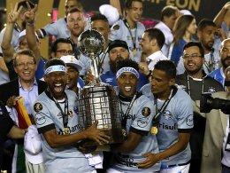 Mit Ex-Bundesliga-Trio: Gremio gewinnt Copa Libertadores