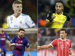 Ballon-d'Or-Ranking: Wo Kroos & Co. landeten