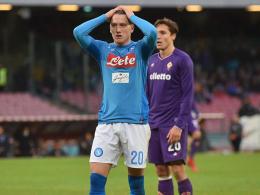 Erster Sieg für Gattuso - Napoli verpasst Sprung auf eins