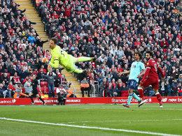 Golden Shoe: Salah legt wieder vor -