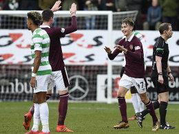 Nach 69 Spielen: Hearts knacken Celtic-Serie!