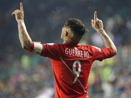 Dopingsperre reduziert: Guerrero darf doch zur WM