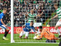 Starke Rangers verpassen Sieg im Old Firm