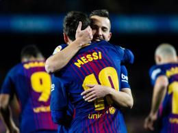 Ein Fall für zwei: Alba und Messi kongenial