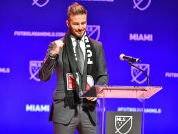 Neymar gratuliert: Beckhams Traum geht in Erfüllung