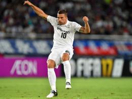 Fehlstart: Podolski & Co. verlieren gegen Shimizu