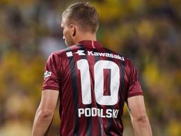 Podolski trifft bei Kobes erstem Saisonsieg