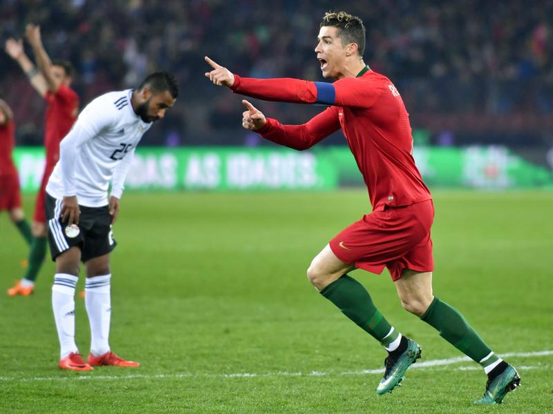 Kampfansage an Messi Ronaldos irre Wette um die Torjäger-Krone!