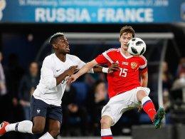 FIFA untersucht Rassismus-Vorwürfe gegen Russland