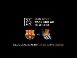 Live am Sonntag: Iniestas letzter Auftritt für Barça