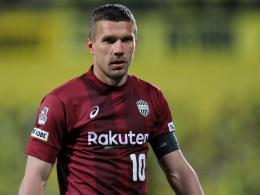 2:3 in der Nachspielzeit: Podolski verliert mit Kobe