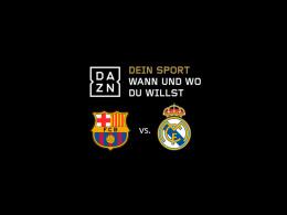 Live und auf Abruf: Der Clasico Barça gegen Real am 6. Mai