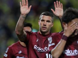 Podolski: Zweiter Doppelpack in der J-League