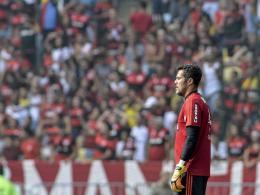 Julio Cesar nimmt Abschied