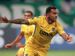 Tevez und Boca holen Meistertitel