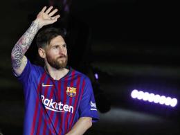 Golden Shoe geht zum fünften Mal an Messi