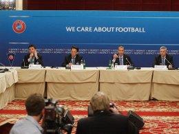 UEFA verschärft Regeln zum