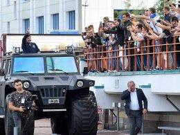 Maradona ist Vorstandsvorsitzender von Brest