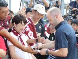 Iniesta in Kobe angekommen - Debüt am Sonntag?