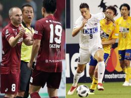 Missglückte Japan-Debüts für Iniesta und Torres