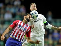 4:2! Atletico düpiert Real - Doppelpack Diego Costa