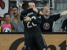 Erster Doppelpack: Rooney führt DC United zum Sieg