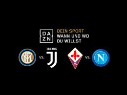 Live und auf Abruf: Der Titelkampf zwischen Juve und Napoli